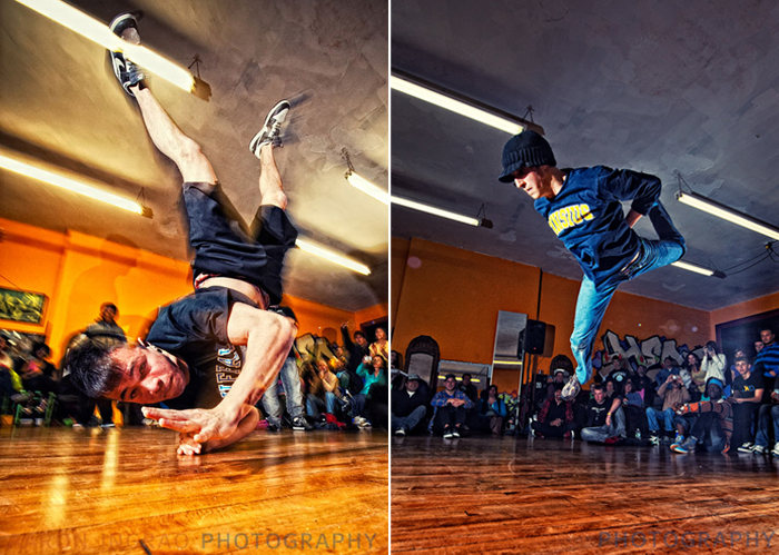 Shawn Johnson at verve dance studio's monthly battle@buffalo dance contest